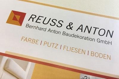 2001 Übernahme Reuss & Anton