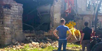 PART02 - Löbtauer Straße 66 - Es geht los - die alte Fassade bröckelt!