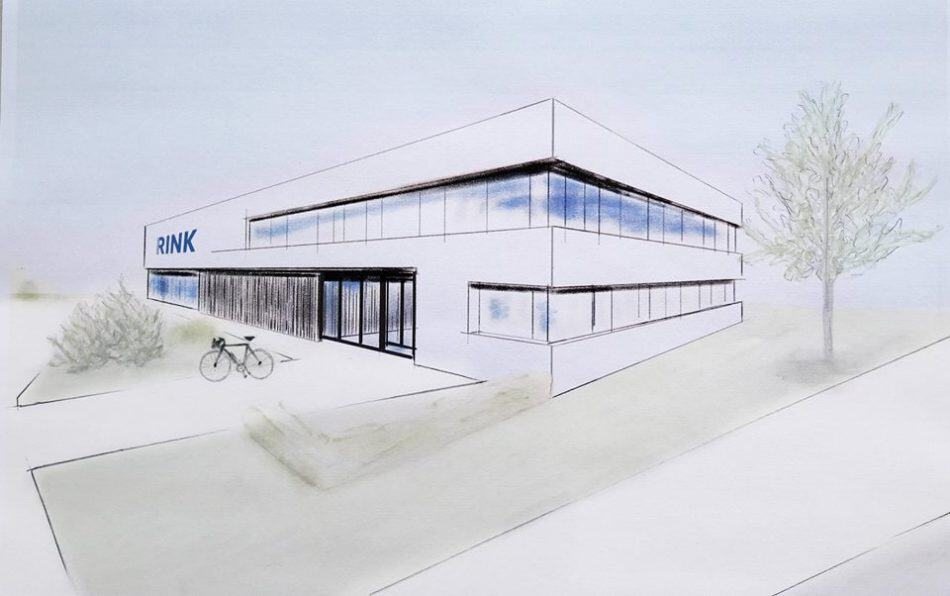 Richtfest für das neue Firmengebäude der Firma Eberhard RINK Sanitär - Heizung - Elektro GmbH & Co. KG
