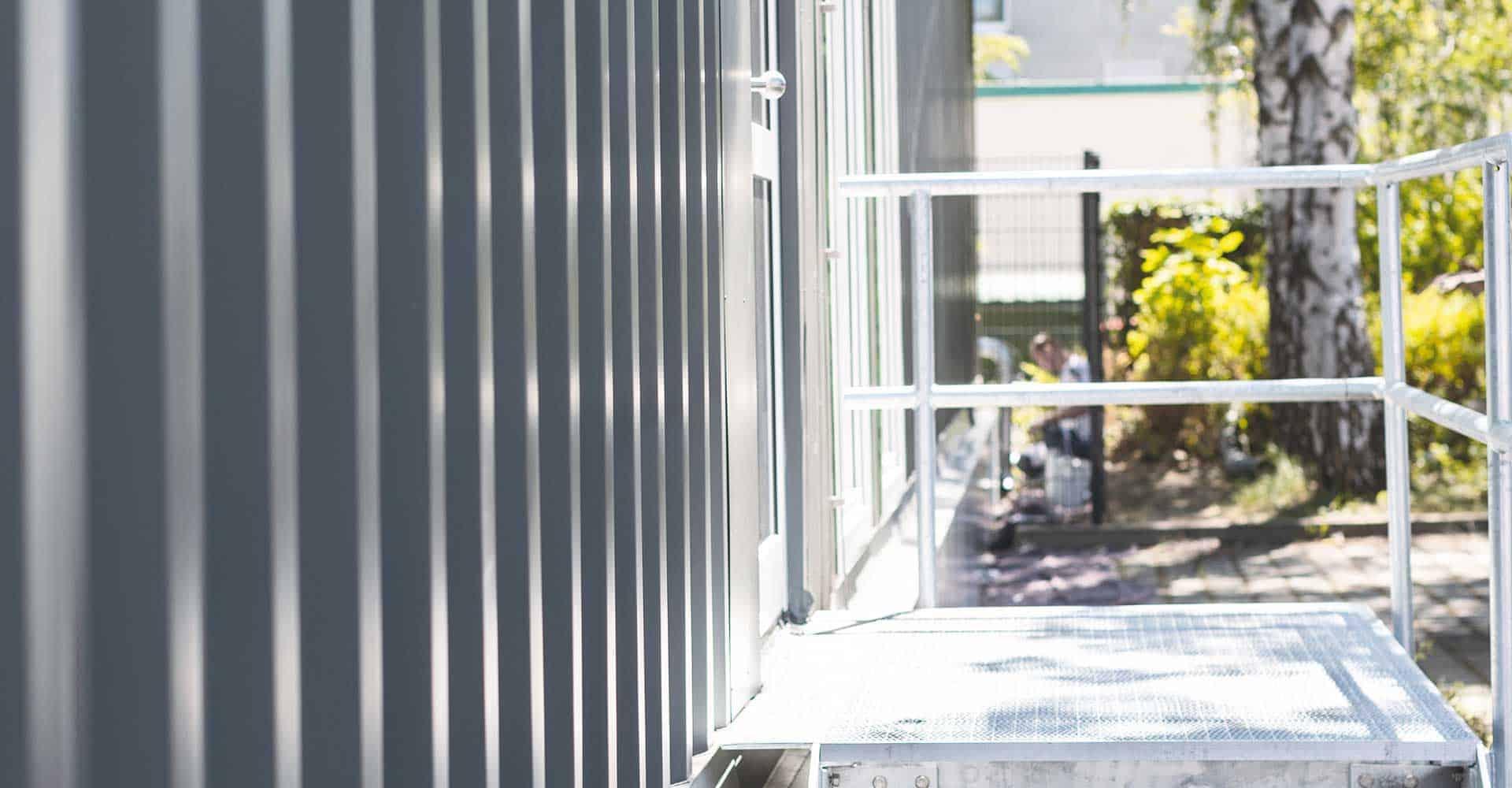 Nationales Centrum für Tumorerkrankungen, NCT, Uniklinikum, Dresden, Krebsforschung, Therapie, MRT, Magnetresonanztomographie, SIEMENS, Seecontainer, 300 qm