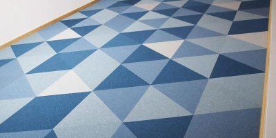 Bodenbelag, Fletco Carpet Tiles, Büro Loft, Teppichfliesen, Akustik, Schallschutz