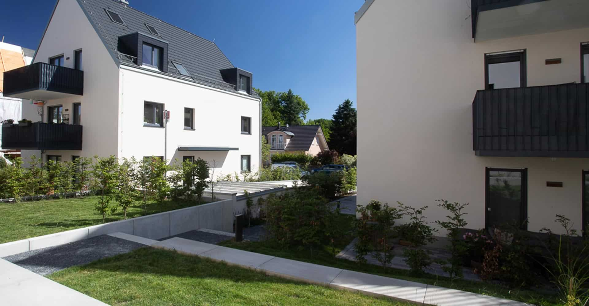 PQA, Park Quartiere Altfranken, Neubau, Grundsteinlegung, Richtfest, 15 Eigentumswohnungen, Architektur, Handwerk