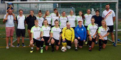 SpVgg. Dresden Loebtau, erstes Punktspiel, Frauenfussball, Sponsor, 0:2,