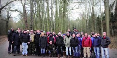 Bäume pflanzen gegen den Klimawandel, Weihnachtsfeier