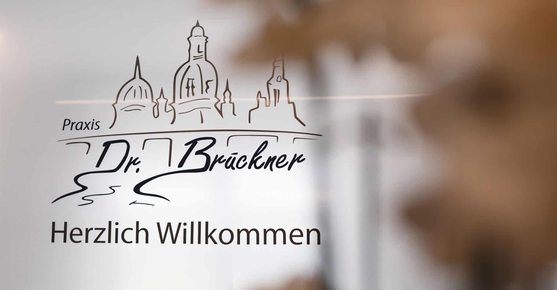 Zahnarztpraxis Brückner Dresden Werbetechnik