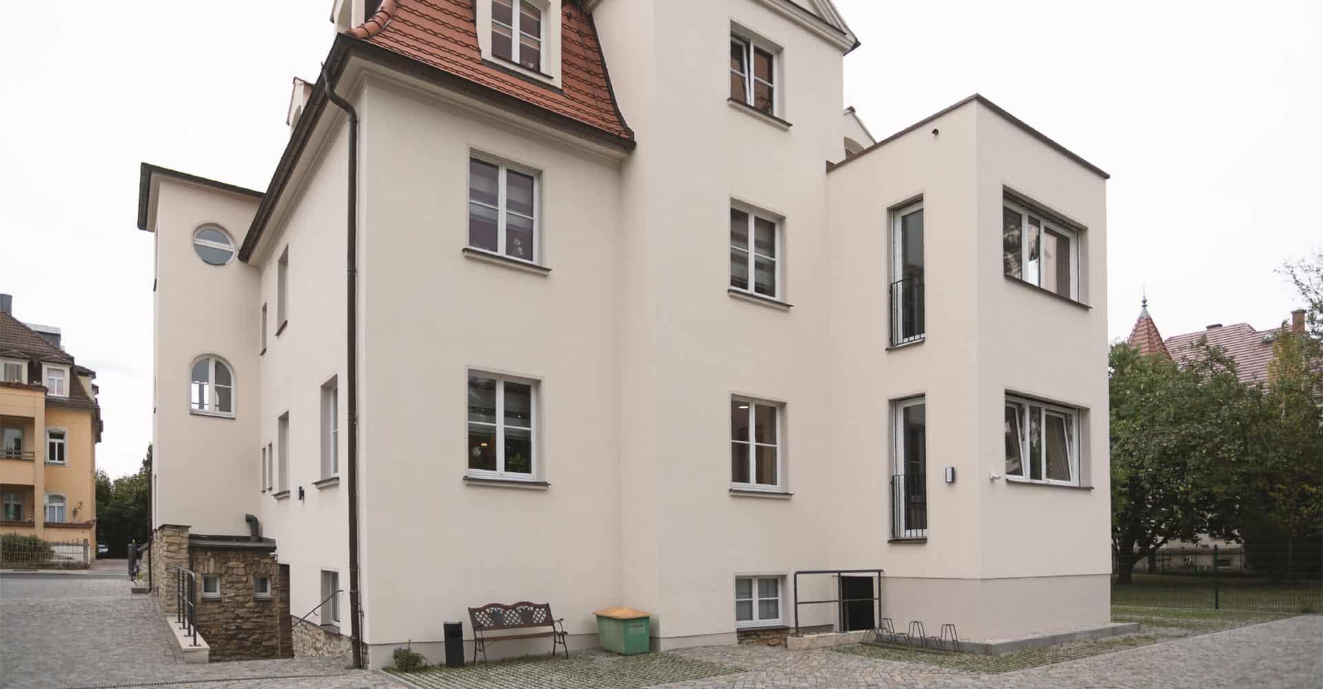 Zahnarztpraxis Brückner Dresden Außenansicht
