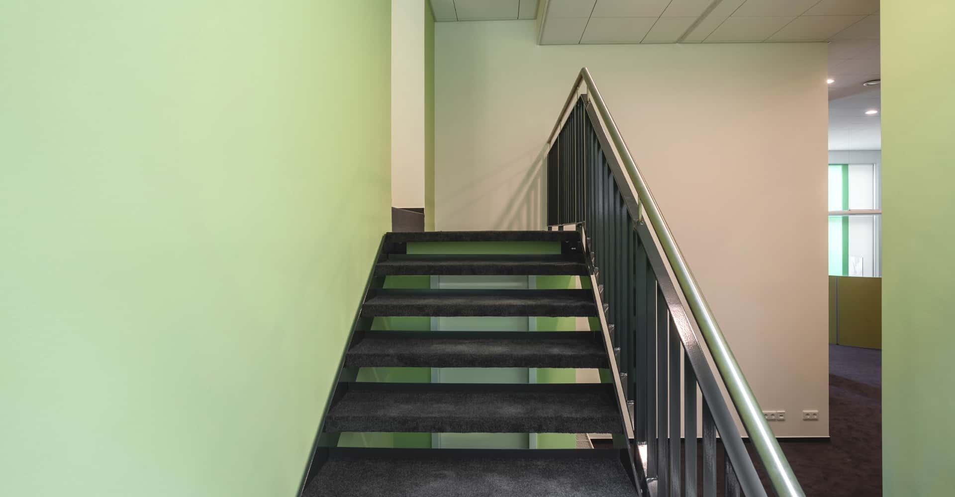 KADUR Gruppe AOK PLUS Filiale Dresden Treppenaufgang