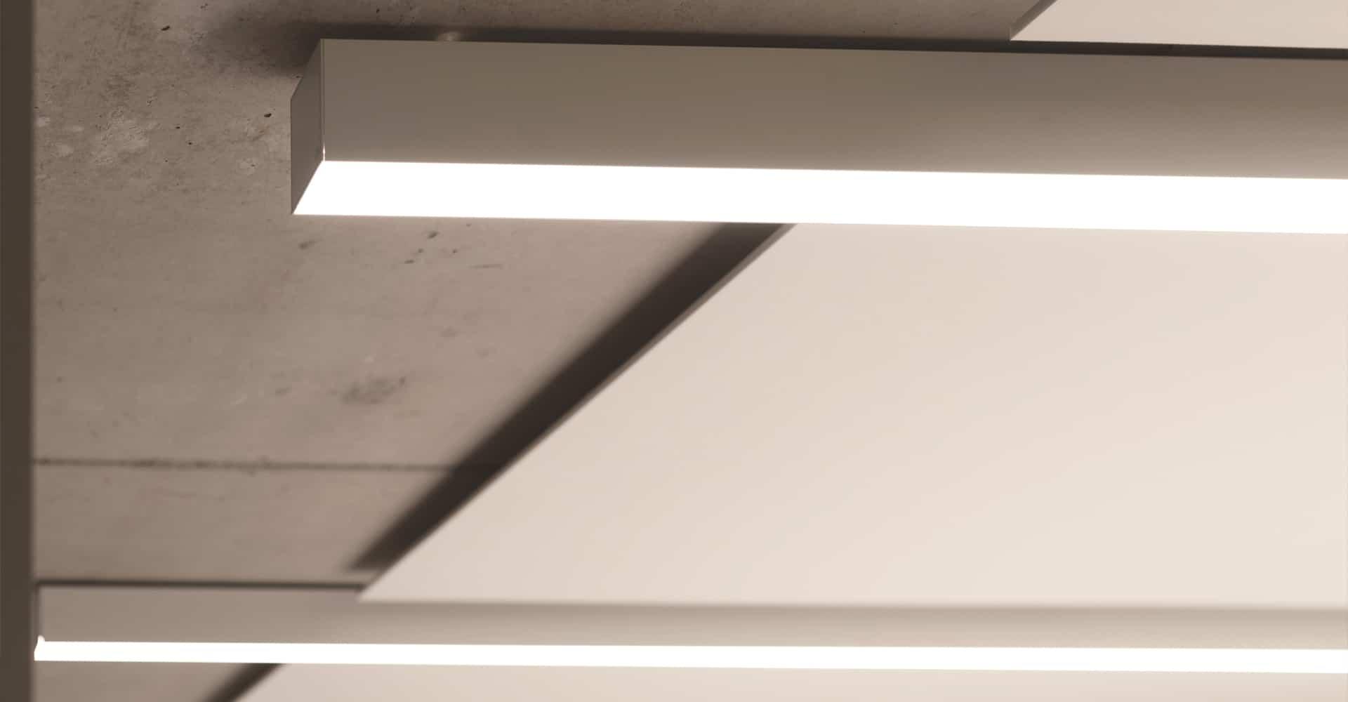 KADUR Gruppe AOK PLUS Filiale Dresden Büro Beleuchtung
